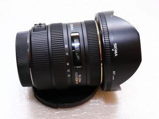 Sigma objektív Canon vázra