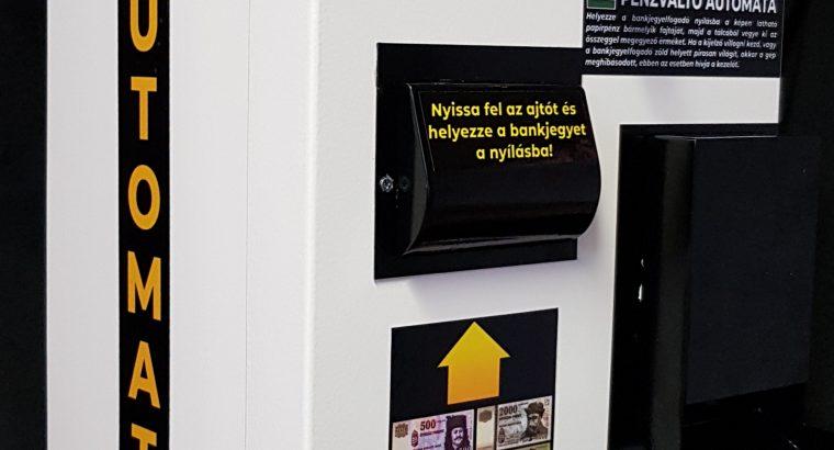 Pénzváltó gép, Pénzváltó automata, zsetonkiadó gyártás