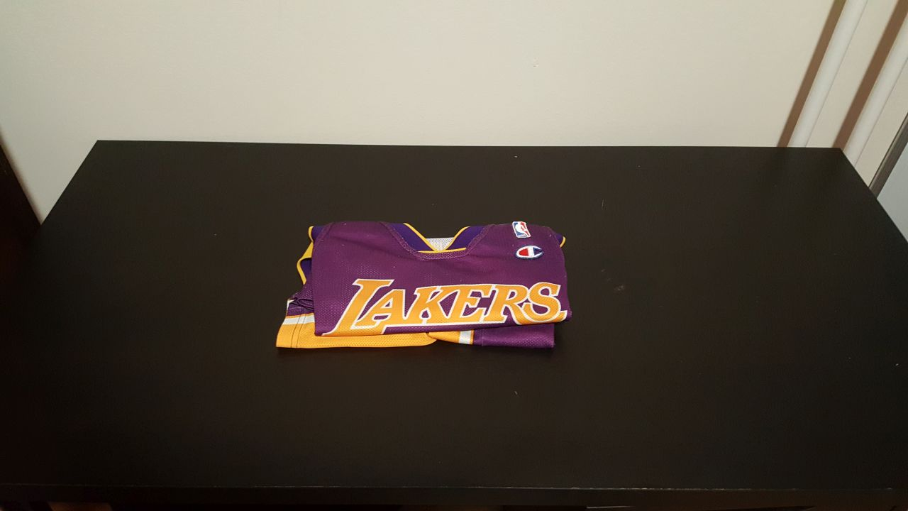 db2b13dae6 ELADÓ: Kobe Bryant mez - Ritka, 8-as Lakers alternate jersey ...