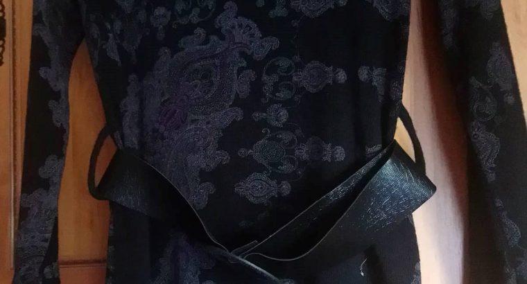 Új női fekete hosszított felső