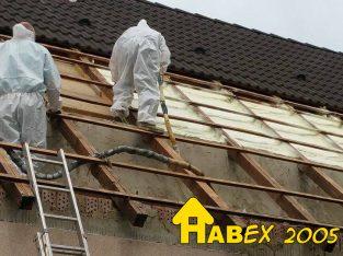 Cégünk épületek hő-és vízszigetelését vállalja szórt poliuretán /PUR habbal ORSZÁGOSAN!