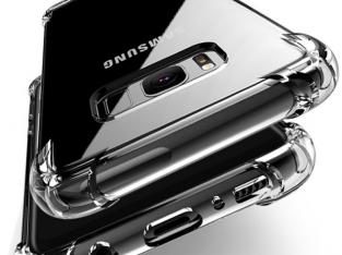 Samsung Galaxy S10 / S10+ tok – színtelen, átlátszó kiemelt védelemmel
