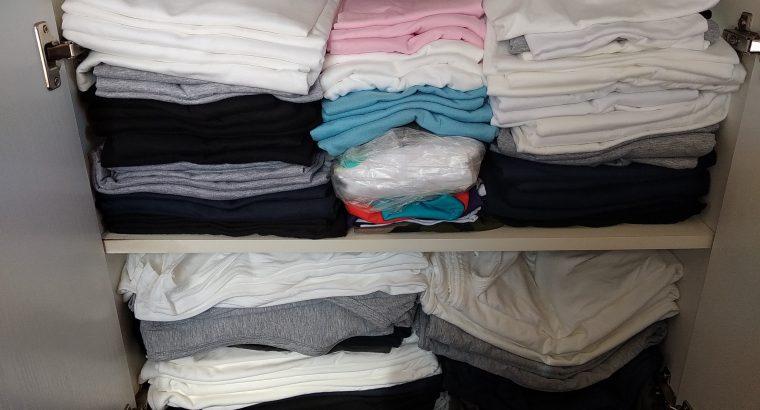 Nyomtatható pamut pólók és atléták eladók