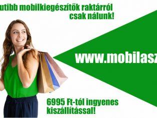 Mobiltokok, üvegfóliák, okostelefon kiegészítők raktárról