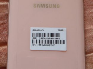 Samsung Galaxy A3 2017 A320F barack pink rózsaszín 4,7″ mobiltelefon telefon mobil