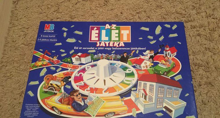 Game of life (Az élet játéka) társasjáték