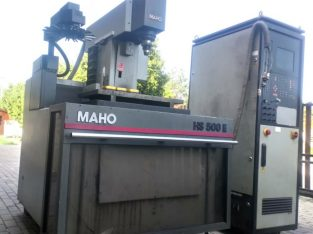 Maho Hansen HS500E tömbszikra forgácsoló NEM MŰKÖDŐ állapotban eladó