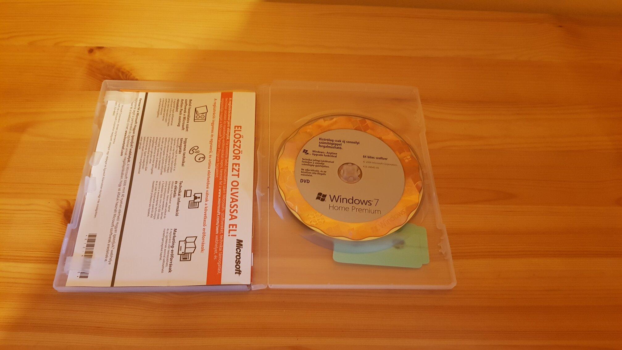 Windows 7 Home Premium 64 bites