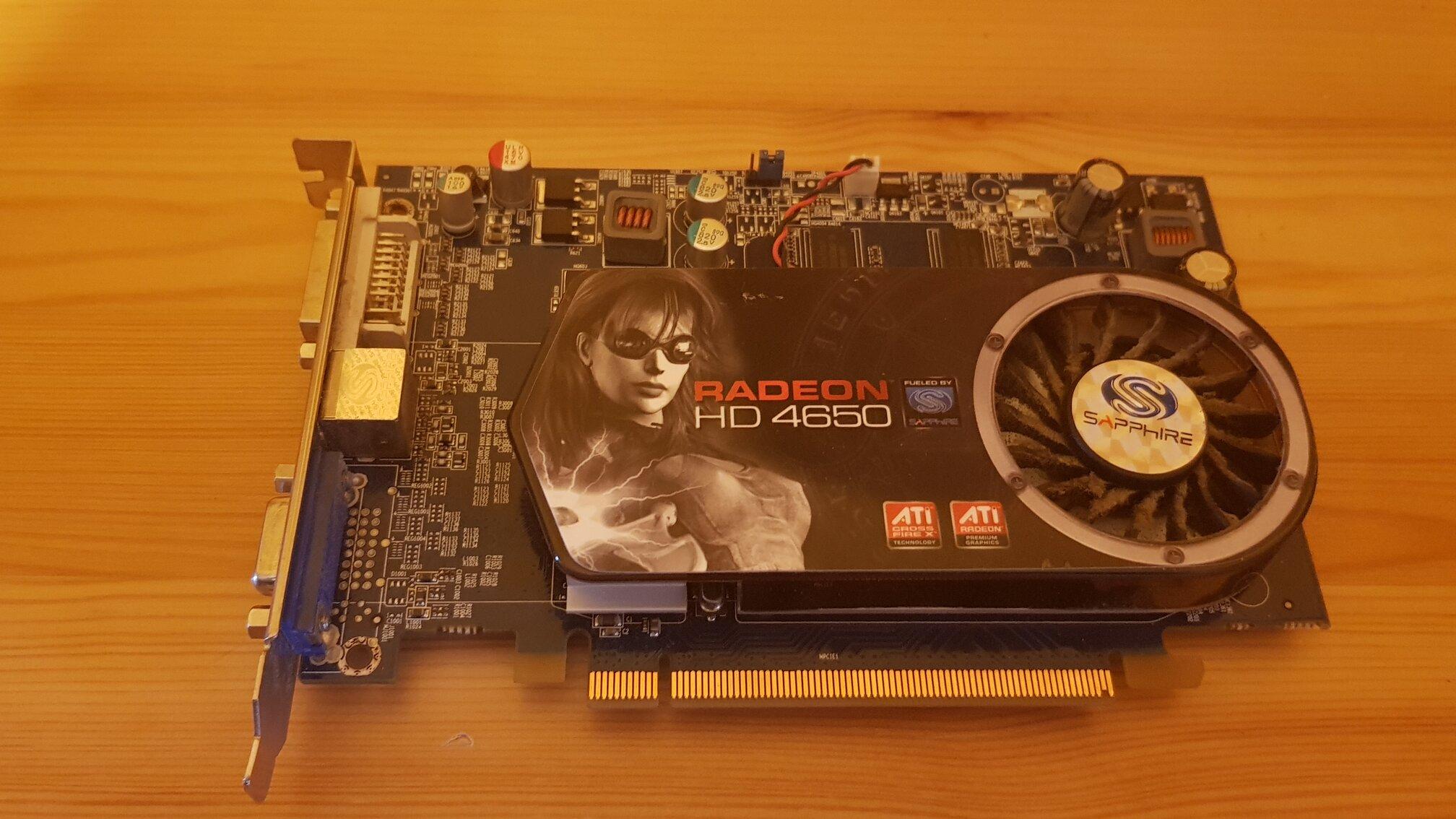 Sapphire ATI Radeon HD4650