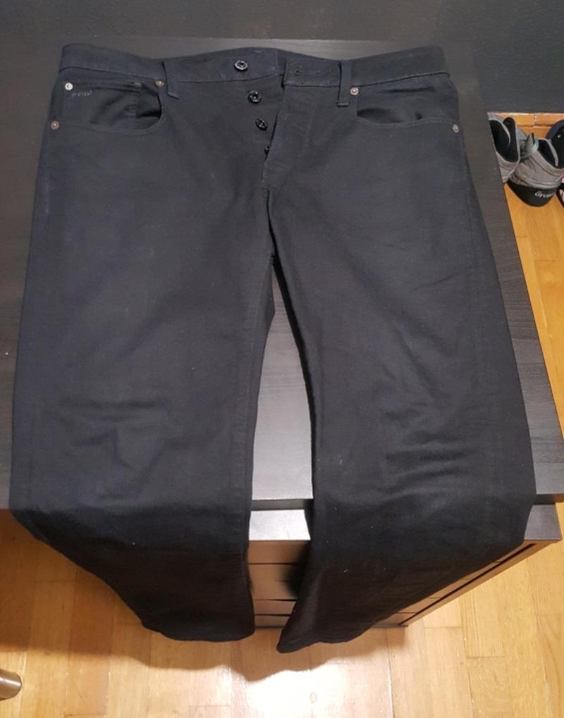ELADÓ: G-Star RAW – 3301 Slim Jeans (fekete)