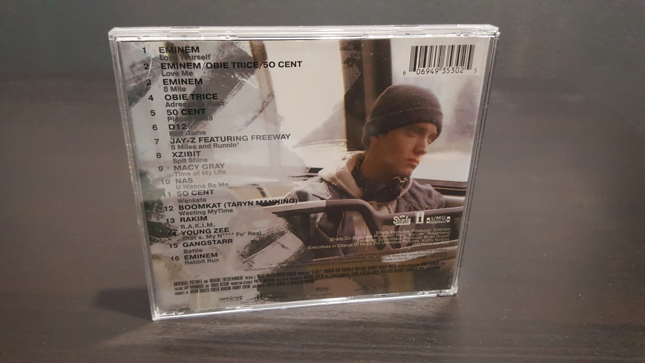 ELADÓ: 8 Mile CD – Various Artists