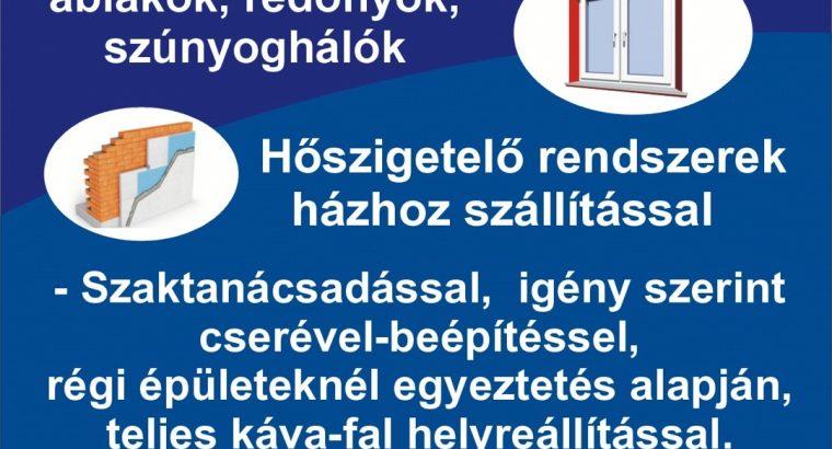 Nyílászárók (Ajtó – Ablak) Balatonkeresztúr *(Ingyenes felmérés)
