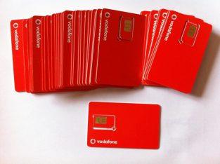 Kihagyhatatlan ajánlat: Aktivált Sim kártya, Vodafone kártyák