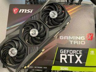 Selling GEFORCE RTX 3090 / MSI Geforce RTX 3080 / ASUS ROG STRIX RTX 3080, Whatsapp Chat: +13072969231